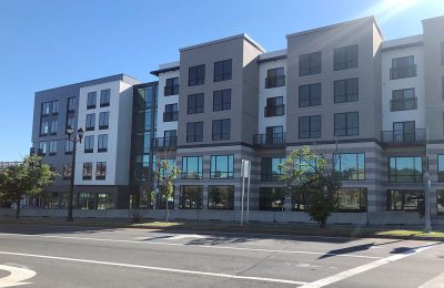 Salem mixed-use building